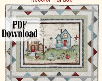 Rooster Parade PDF download pattern