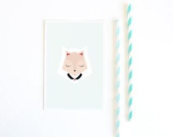Cat Card 10x15