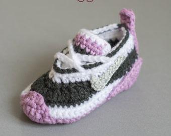 Cute as a button Nike Häkelschuhe DEUTSCHE ANLEITUNG