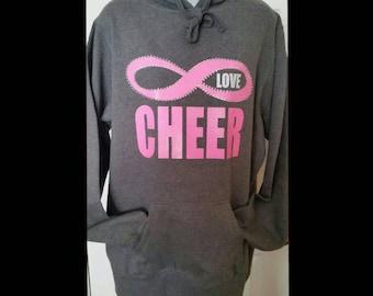 Love Cheer Infinity Hoodie