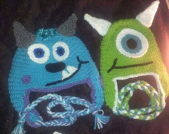 Adorable Sully-Inspired Monsters Hat Size Child to Adult