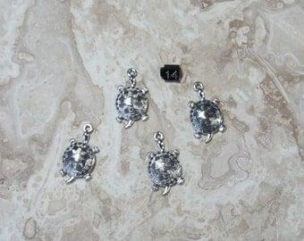 10 ea  Turtle charms # 14