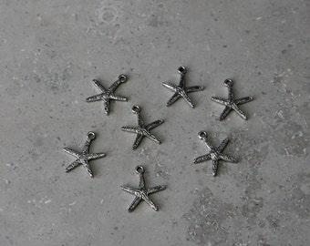 10 - starfish charms #1