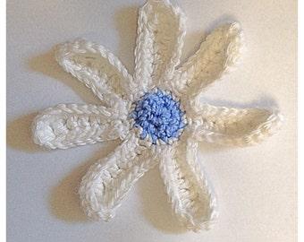 Crochet Daisy Fridgie Magnet