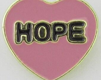 KB8064  Pink Hope Heart