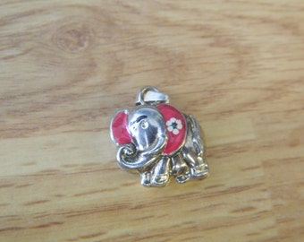 Elephant Pendant Italy 925 Sterling Silver