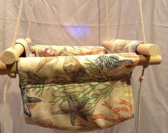 Indoor/Outdoor Baby/Toddler Swing-Sealife