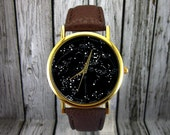 Vintage Constellation Watch | Southern Hemisphere | Leather Watch | Ladies Watch | Mens Watch | Gift | Stocking Stuffer | Christmas Gift
