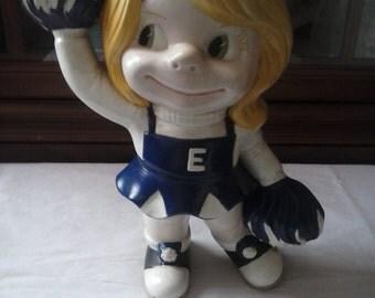 Smiley Atlantic mold ceramic doll