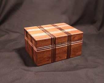 Walnut Puzzle Box