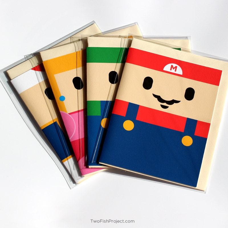 Snap Super Mario Card Etsy Photos On Pinterest