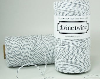 10m Grey Bakers Divine Twine