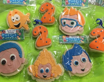 Bubble Guppies big cookies