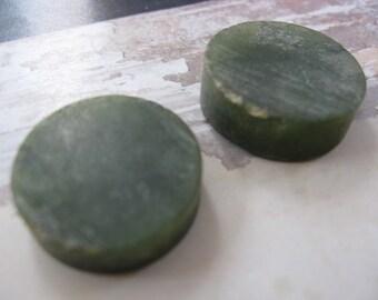 Jade Cabochons - Craft SupplyRough  Stone Pendant Bead Supplies Destash Assemblage Supplies