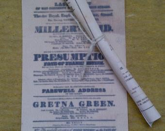 Miniature Theatre Posters