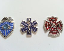 Police, EMT and Fire Badge Needle Minders