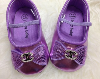 Purple Baby Girl Shoes