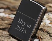 Personalized Zippo Lighter Black Ice Groomsmen and Bestman Gift perfect Gifts for Him