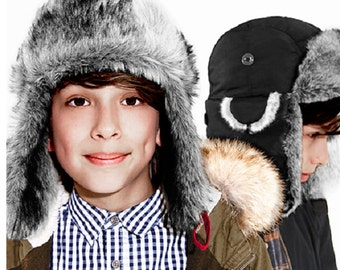 Various Colours Junior Trapper Hat