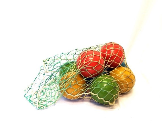 Bocce Ball Lawn Bowling :  Bocce Ball Set Made in Italy Red Blue Yellow Green in Bag Lawn Bowling