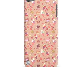 Sweet Tooth Kawaii Candy Art Print iPod Touch 5 5G 5th Gen Case Japan Anime