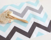 Laminated Cotton Fabric Chevron By The Yard
