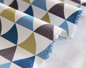 Oxford Cotton Fabric Triangle By The Yard