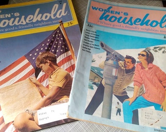2 Vintage Women's Household Magazines 1972 & 1973