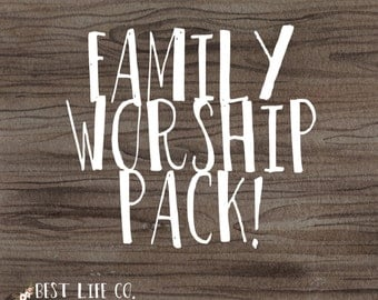 JW Family Worship Pack Jehovah's Witness Family Worship Night Ideas Tools Worksheets Goals Sheet Couples