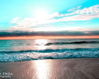 Sunrise, Point Pleasant NJ, NJ Beach, 8x10 Inch Print