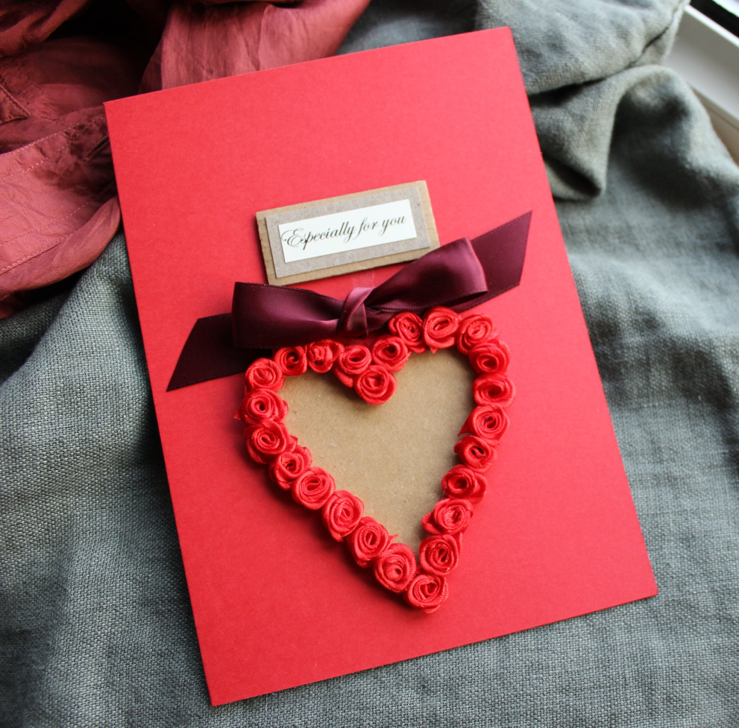 Handmade Card Funny Card Boyfriend Romantic Card Boyfriend – Romantic Birthday Card