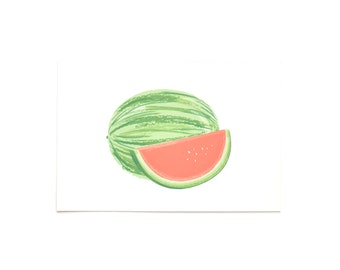 Watermelon Postcards