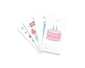 Birthday Assorted Gift Tags