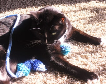 SALE!!!-Catnip Ornament Toys- Hand crocheted