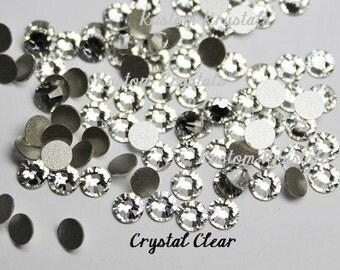 4f5a50098257 30ss CRYSTAL CLEAR Swarosvki Crystal Flatback Rhinestones. Item 2088  No-Hotfix. 6.41mm. ss30