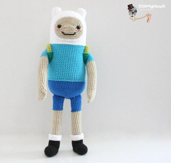 Amigurumi Love Birds Pattern : Amigurumi Finn the Human. Adventure Time