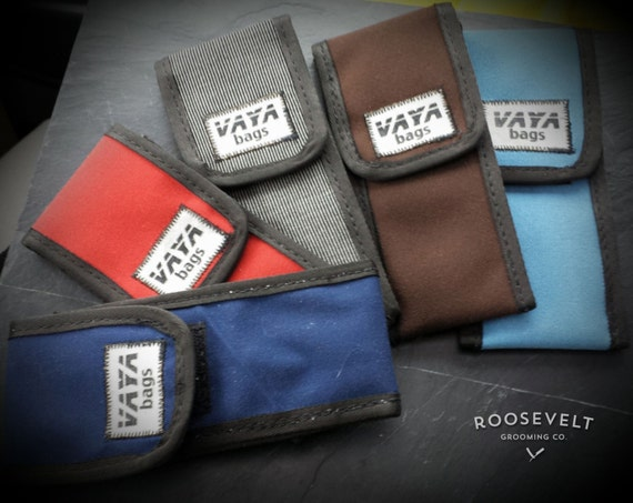 Exclusive Vaya Bags and RGCo Custom Straight Razor Pouches