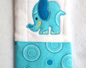 Embroidered Cloth Diaper Burp Cloth