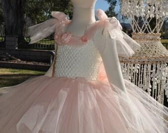 Girls Blush Tutu Dress, Pink Toddler Dress, Blush Flower Girl Dress, Baby Blush Pink Dress, Pink Blush Infant Dress, Special Occasion Dress