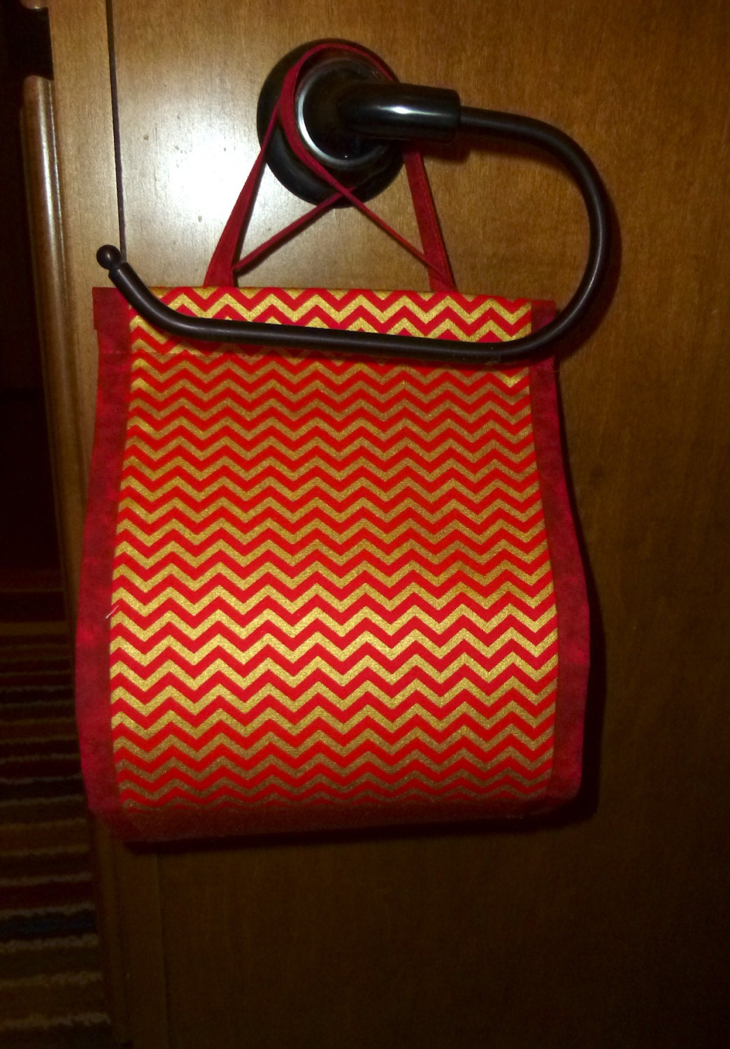 Toilet Paper Holder Chevron Spare Roll Toilet By Just2dangcute