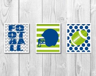 Football Wallart / Football Printable / Football Art