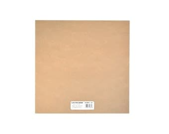 Natural Color Medium Weight Chipboard Sheets 12 Inch by 12 Inch 25 Count, Chipboard Sheets For Cricut, Scrapbooking, Paint, Ink Or Stamp
