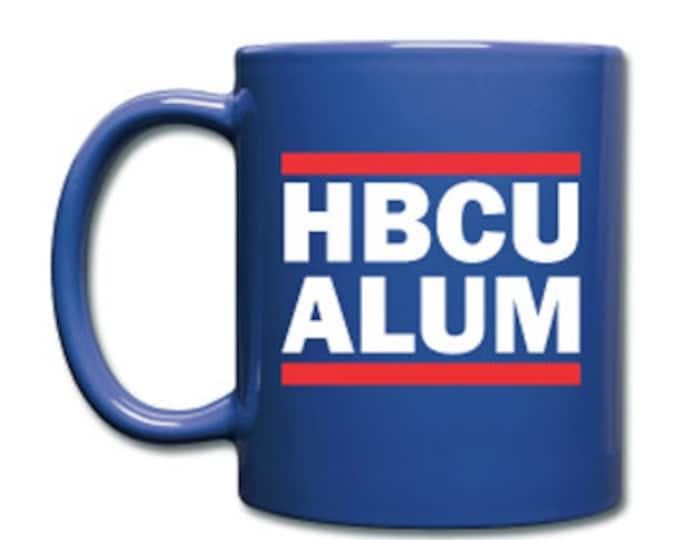 HBCU Alum Alumi Alumnus Royal Blue Ceramic Coffee Mug