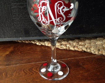 USC Wine Glass