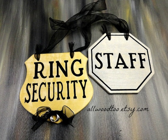 wedding ring bearer sign funny ring bearer sign staff wedding