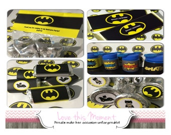 Batman Party Package by Love this Moment!