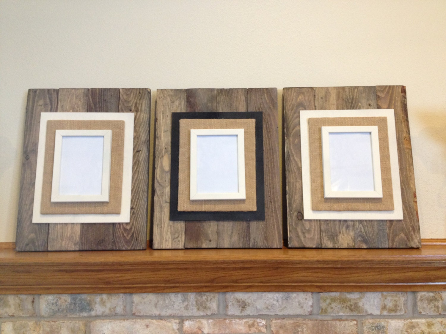 Reclaimed Wood Picture Frame Pallet Wood Picture Frame