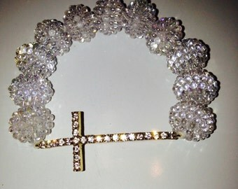 Golden Cross SparkleBerry Bracelet