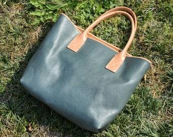 Premium Everyday Leather Tote