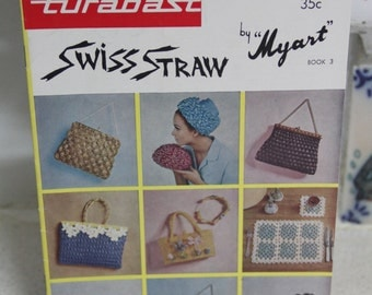 Vintage Crochet Bag Patterns - Myart - Turabast Book No 3